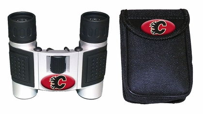 Calgary Flames Binoculars and Case