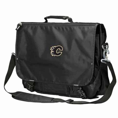Calgary Flames Executive Attache Messenger Bag