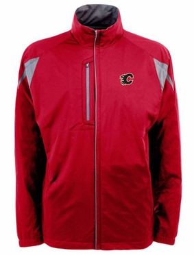 Calgary Flames Mens Highland Water Resistant Jacket (Team Color: Red)