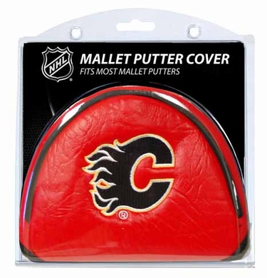 Calgary Flames Mallet Putter Cover