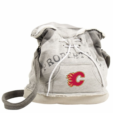 Calgary Flames Property of Hoody Duffle