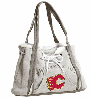 Calgary Flames Property of Hoody Purse