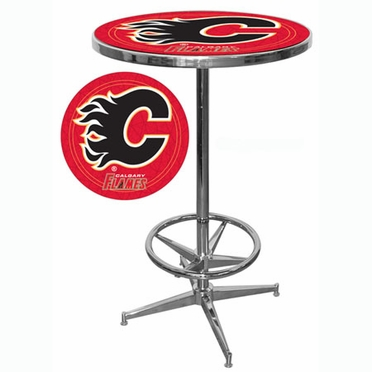 Calgary Flames Pub Table