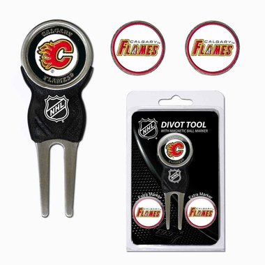 Calgary Flames Repair Tool and Ball Marker Gift Set