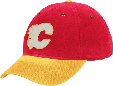 Calgary Flames Throwback Vintage Adjustable Hat
