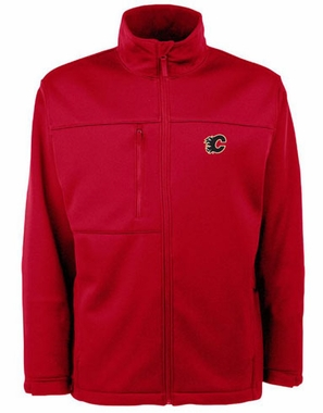 Calgary Flames Mens Traverse Jacket (Color: Red)