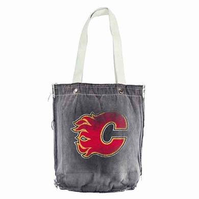 Calgary Flames Vintage Shopper (Black)