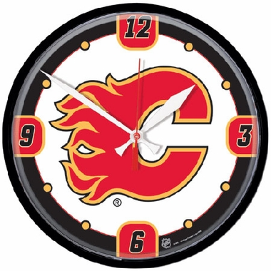 Calgary Flames Wall Clock