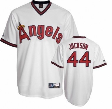California Angels Reggie Jackson Replica Throwback Jersey