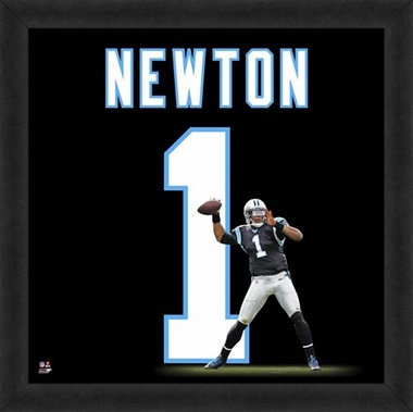 "Cam Newton, Panthers UNIFRAME 20"" x 20"""