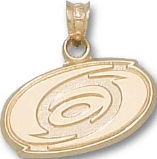 Carolina Hurricanes 10K Gold Pendant