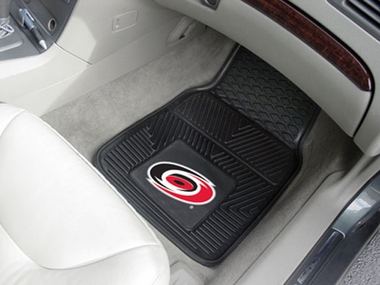 Carolina Hurricanes 2 Piece Heavy Duty Vinyl Car Mats