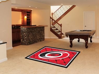 Carolina Hurricanes 4 Foot x 6 Foot Rug