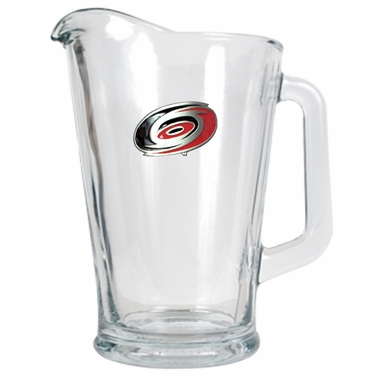 Carolina Hurricanes 60 oz Glass Pitcher