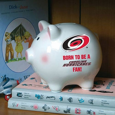 Carolina Hurricanes (Born to Be) Piggy Bank