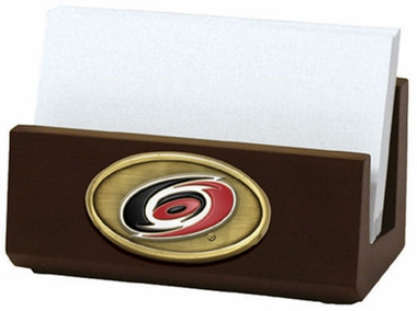 Carolina Hurricanes Business Card Holder