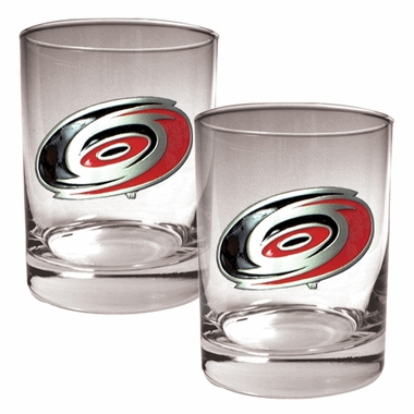 Carolina Hurricanes Double Rocks Set