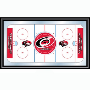 Carolina Hurricanes Hockey Bar Mirror