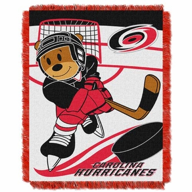 Carolina Hurricanes Jacquard BABY Throw Blanket