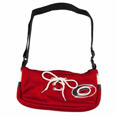 Carolina Hurricanes Jersey Material Purse