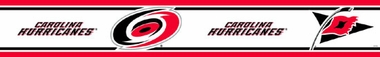 Carolina Hurricanes Peel and Stick Wallpaper Border