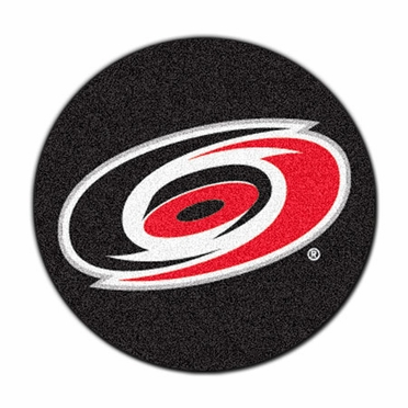 Carolina Hurricanes Puck Shaped Rug