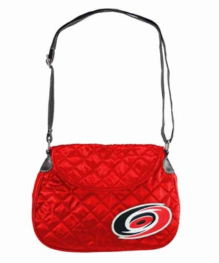 Carolina Hurricanes Quilted Saddlebag