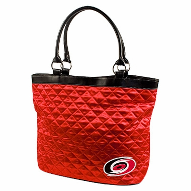 Carolina Hurricanes Quilted Tote