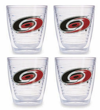 Carolina Hurricanes Set of FOUR 12 oz. Tervis Tumblers