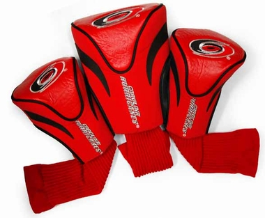 Carolina Hurricanes Set of Three Contour Headcovers