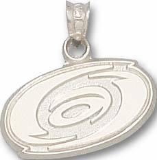 Carolina Hurricanes Sterling Silver Pendant