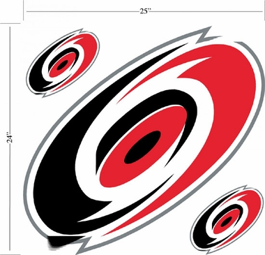 Carolina Hurricanes Wallmarx Large Wall Decal