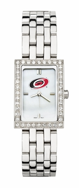 Carolina Hurricanes Women's Steel Band Allure Watch
