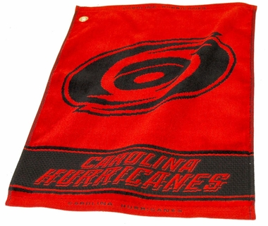 Carolina Hurricanes Woven Golf Towel