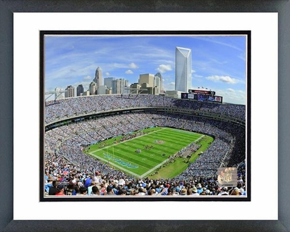 Carolina Panhters Bank of America Stadium 2011 16x20 Framed and Double-Matted Photo
