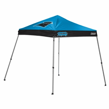 Carolina Panthers 10 x 10 Slant Leg Shelter