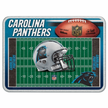 Carolina Panthers 11 x 15 Glass Cutting Board