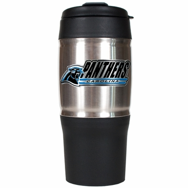 Carolina Panthers Heavy Duty Travel Tumbler