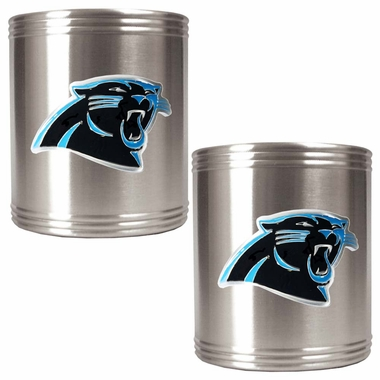 Carolina Panthers 2 Can Holder Set