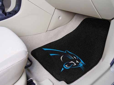 Carolina Panthers 2 Piece Car Mats