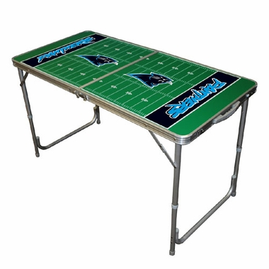 Carolina Panthers 2 x 4 Foot Tailgate Table