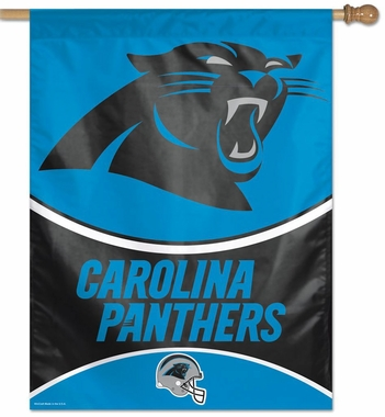 "Carolina Panthers 27""x37"" Banner"