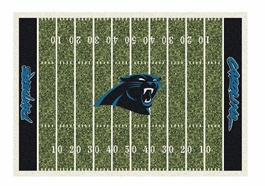 "Carolina Panthers 3'10"" x 5'4"" Premium Field Rug"