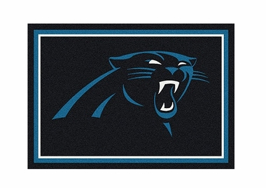 "Carolina Panthers 3'10"" x 5'4"" Premium Spirit Rug"
