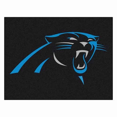 Carolina Panthers 34 x 45 Rug