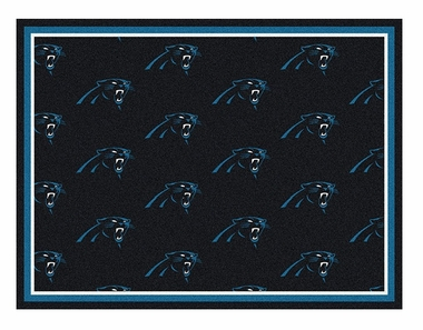 "Carolina Panthers 5'4"" x 7'8"" Premium Pattern Rug"