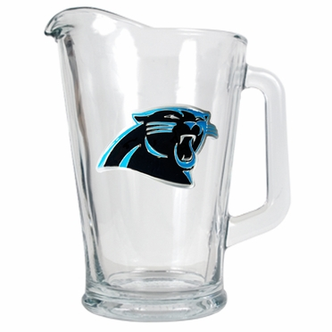 Carolina Panthers 60 oz Glass Pitcher