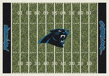"Carolina Panthers 7'8"" x 10'9"" Premium Field Rug"