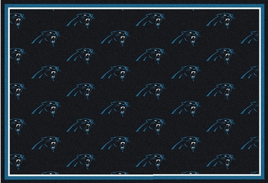 "Carolina Panthers 7'8 x 10'9"" Premium Pattern Rug"