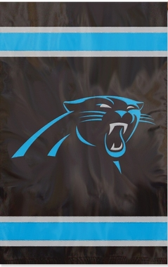 Carolina Panthers Applique Banner Flag